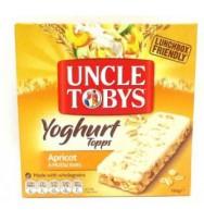 UNCLE TOBYS Yogurt Apricot 6s