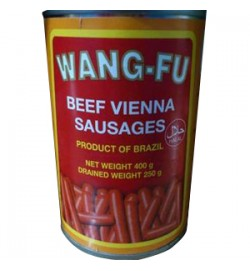 VIENNA SAUSAGES IN CAN